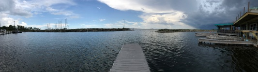 Tyndall Outlooking dock